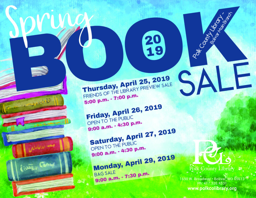 Spring Book Sale - Friends of the Library Preview Night @ Bolivar Meeting Room