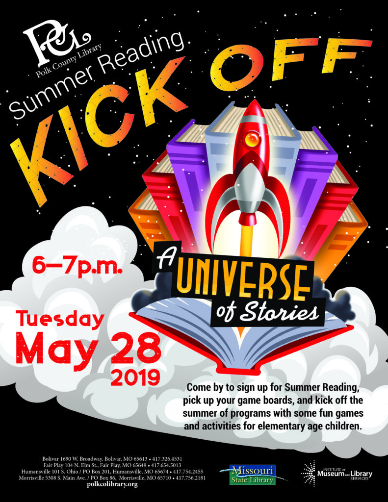 Universe of Stories Kick Off! @ Bolivar Library