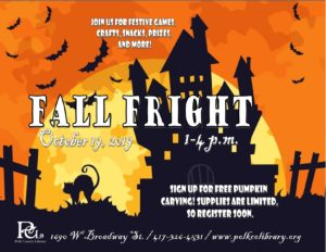 Fall Fright @ Bolivar Library