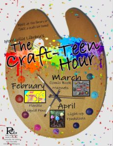 The Craft-Teen Hour @ Morrisville Library