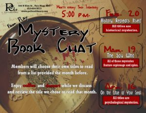 Mystery Book Chat - Fair Play @ Fair Play Library