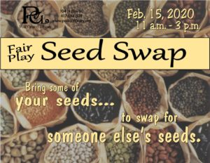 Fair Play Seed Swap @ Fair Play Library
