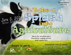 Take a Splash into Agriculture @ Bolivar Splash Park
