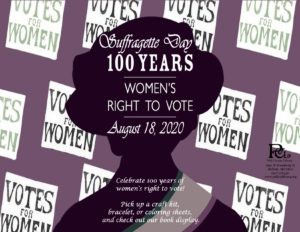 Suffragette Day @ Bolivar Library