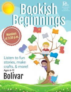 Bookish Beginnings @ Bolivar Library