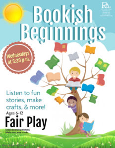 Bookish Beginnings @ Fair Play Library