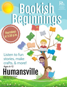 Bookish Beginnings @ Humansville Library