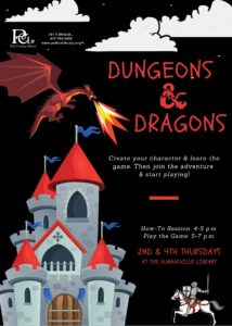 Dungeons & Dragons @ Humansville Library